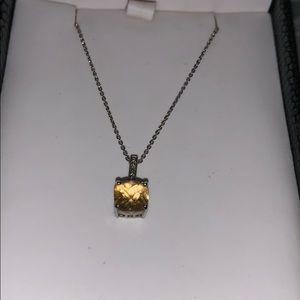 Jewelry - Honey Topaz birthstone necklace